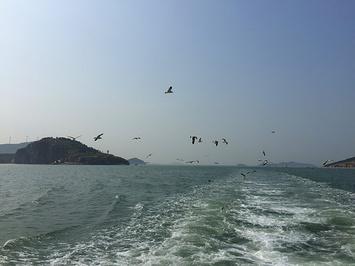 蓬莱仙岛海上游