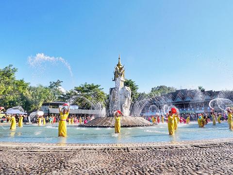 西双版纳傣族园旅游景点图片