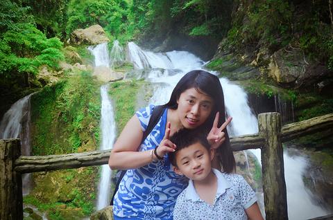拉滩瀑布旅游景点攻略图