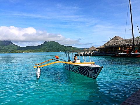 蓝色泻湖旅游景点攻略图