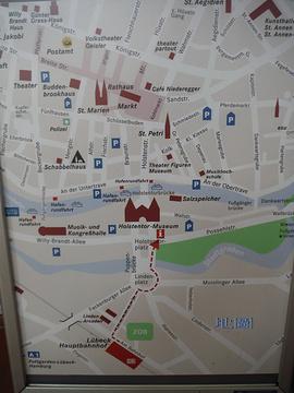 霍尔斯坦门旅游景点攻略图