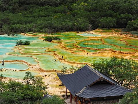 五彩池旅游景点图片
