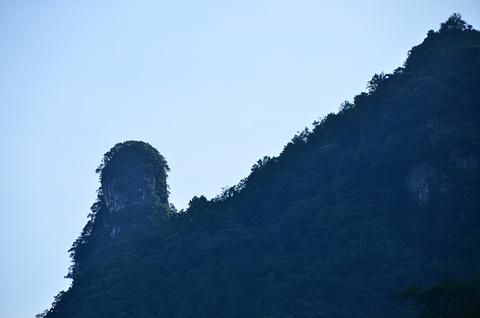 黑山谷旅游景点攻略图