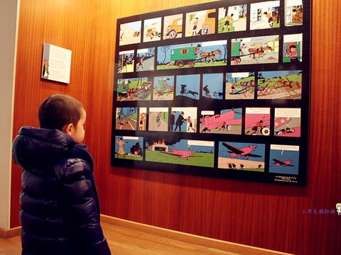比利时漫画艺术中心旅游景点图片