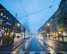 【遇见北欧】赫尔辛基的夜,里加的风