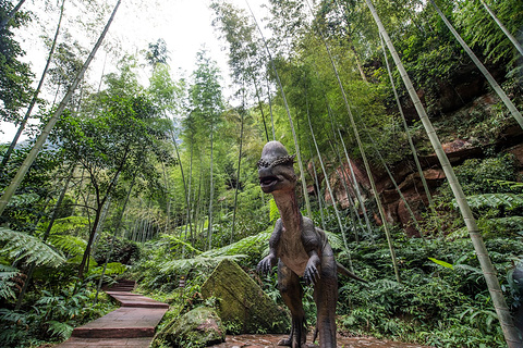 中国侏罗纪公园旅游景点攻略图