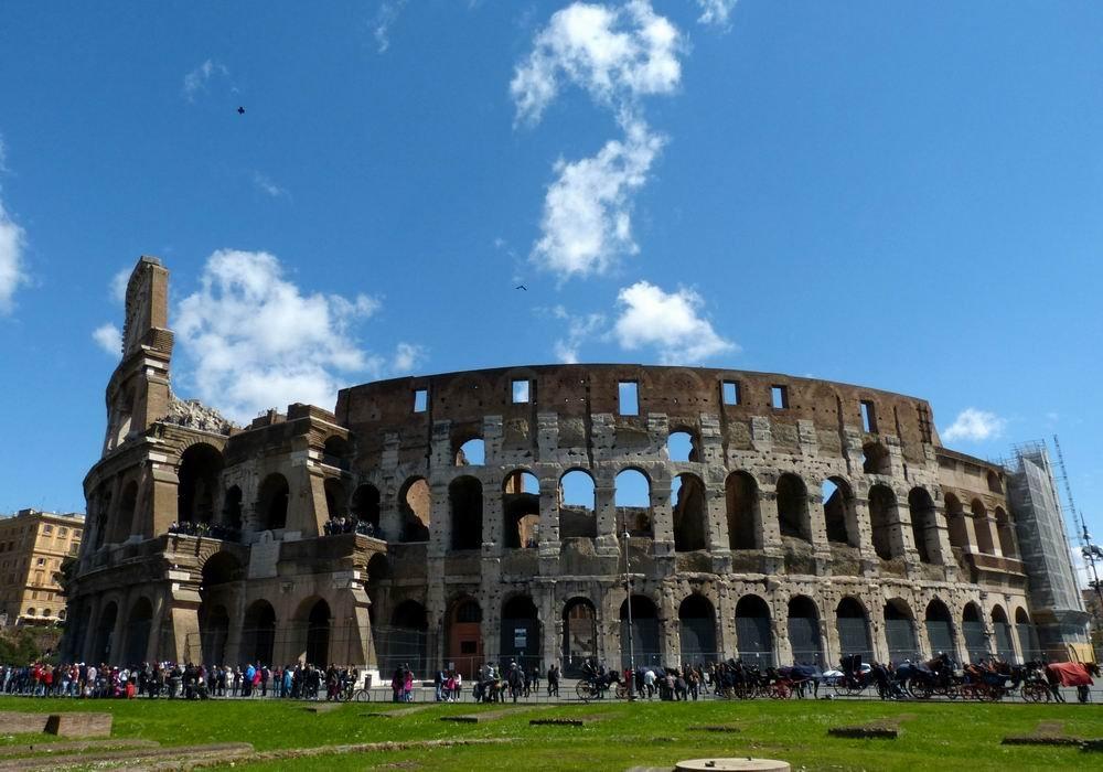 地中海邮轮之旅(十二)罗马