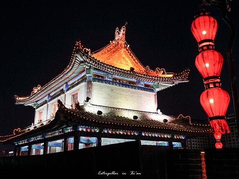 西安城墙旅游景点图片