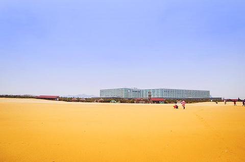 银沙滩海水浴场的图片