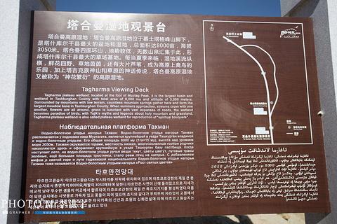 塔合曼高原湿地旅游景点攻略图