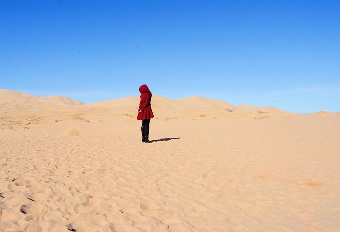 和沙漠的一百天图片_2019倒数第二天,我们又回到了大加州,今天的景点是Mojave 沙漠和 ...