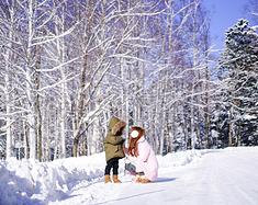 牵起小手寻找日本白昼最先升起的地方,那一望无际银白色的北海道