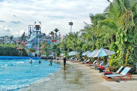 三亚宋城浪浪浪水公园旅游景点攻略图