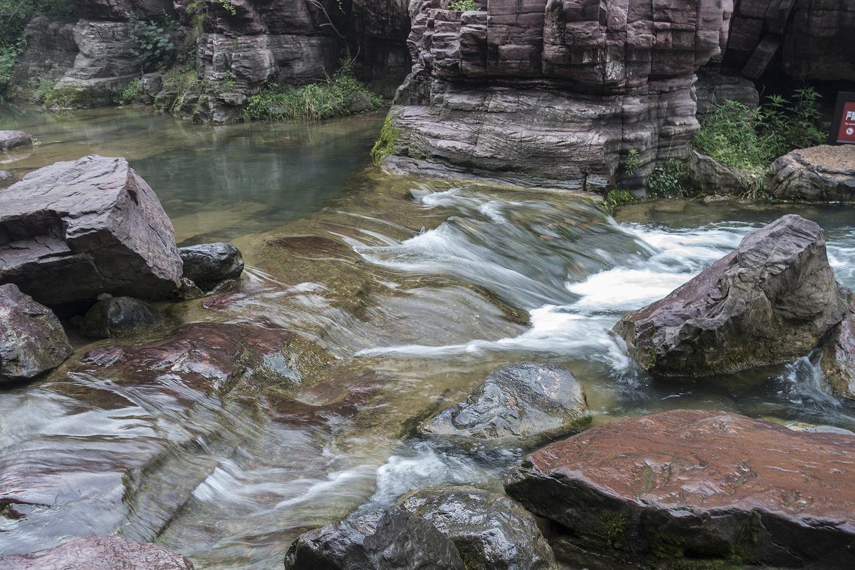 红石峡图片