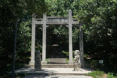 赭山公园旅游景点攻略图