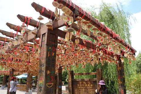 束河古镇旅游景点攻略图