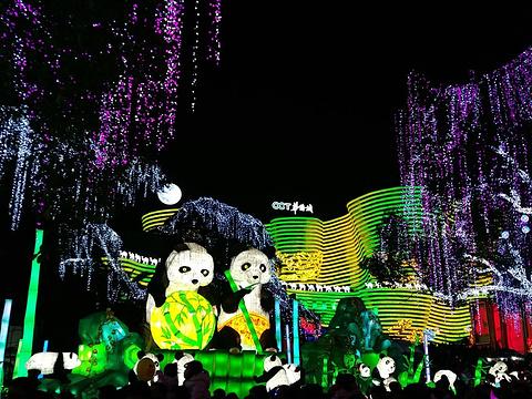 自贡彩灯公园旅游景点图片