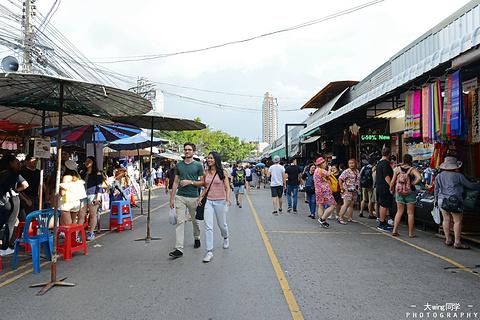 加都加周末市场旅游景点攻略图
