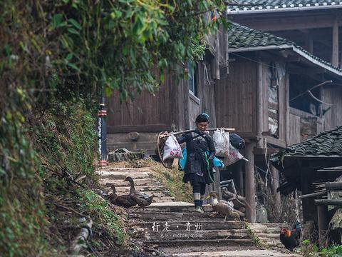 岜沙苗寨旅游景点图片