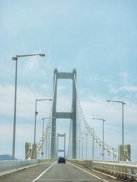室兰白鸟大桥旅游景点攻略图
