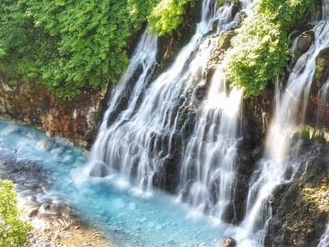 白须瀑布旅游景点图片