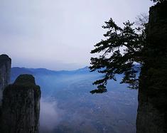 秋末冬初,游恩施大峡谷