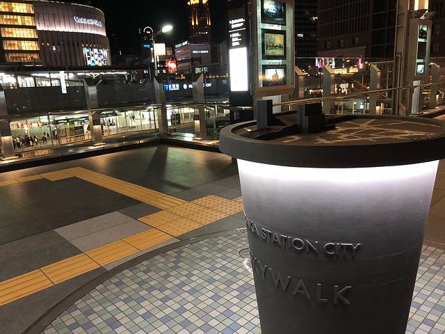 2017在大阪城公园站乘坐JR大阪环状线,就能到