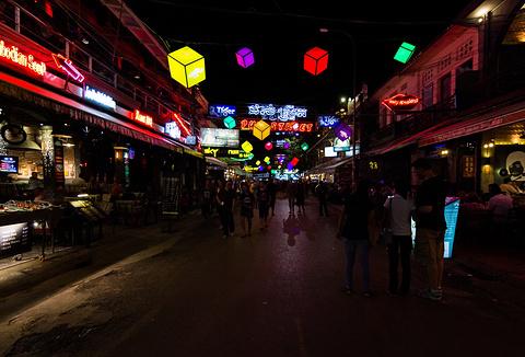 暹粒艺术夜市旅游景点攻略图
