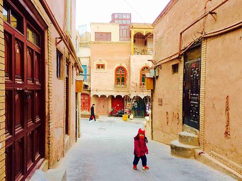 喀什老城旅游景点攻略图