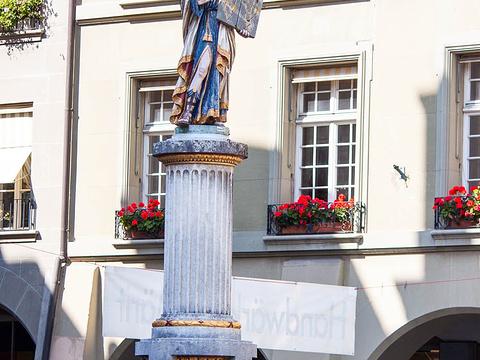 摩西喷泉旅游景点图片