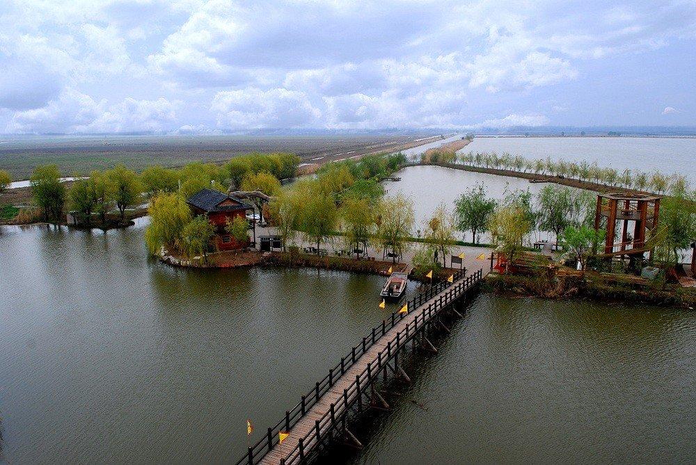 「神奇高邮湖 醉美芦苇荡」-高邮湖芦苇荡湿地公园