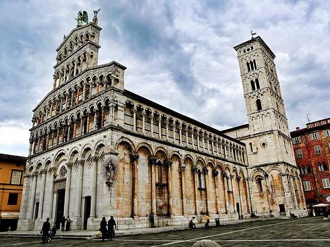 卢卡圣米歇尔教堂旅游景点图片