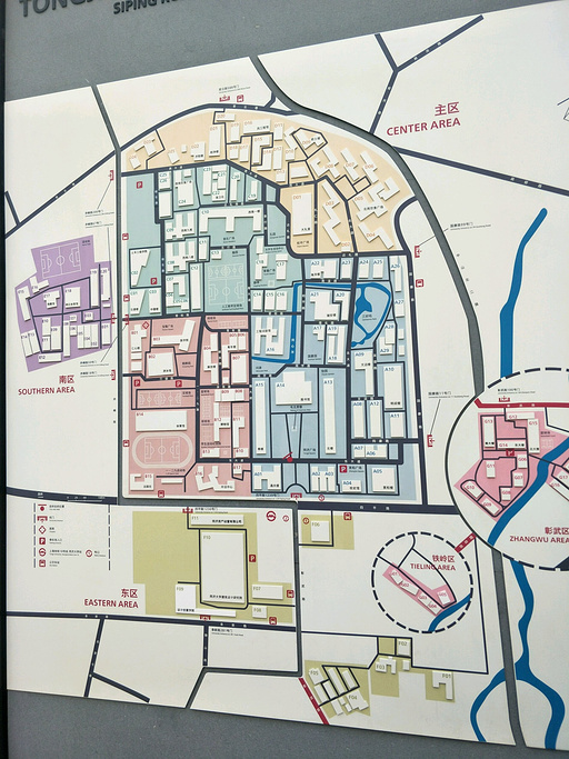 同济大学旅游导图