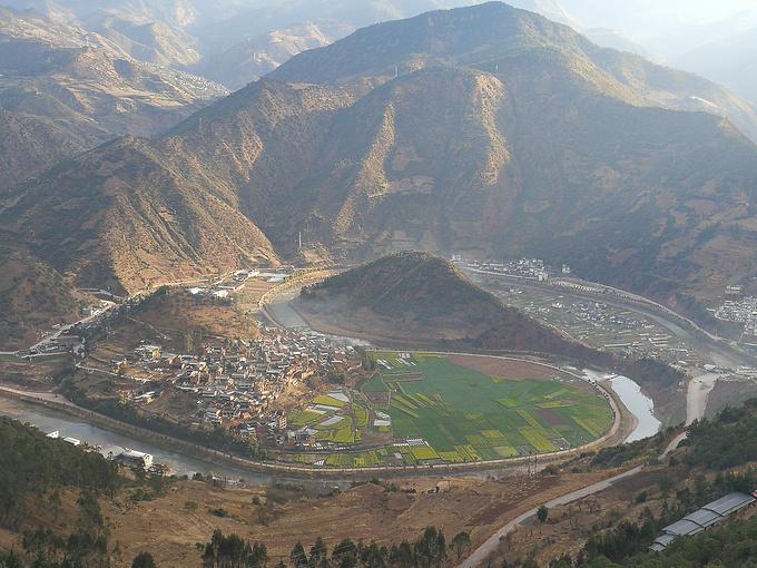 太极村观景台图片
