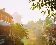 古运河畔,雨后初晴,续台庄旧时繁华梦