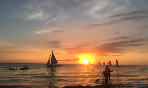 长滩岛菲律宾5日游
