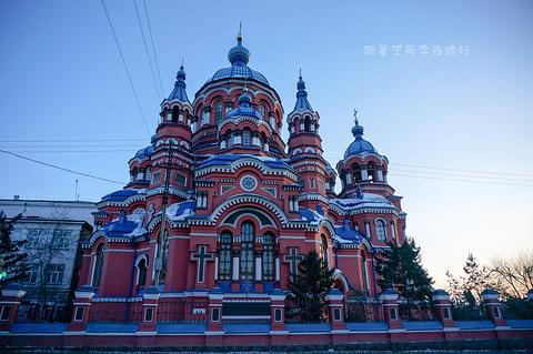 喀山圣母教堂旅游景点攻略图