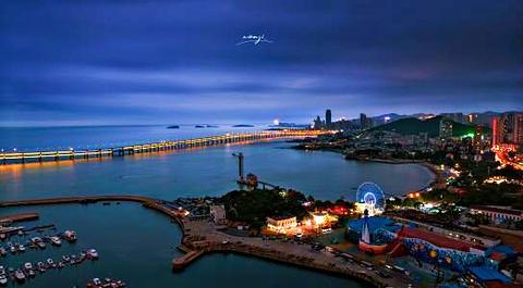 东港音乐喷泉广场旅游景点攻略图