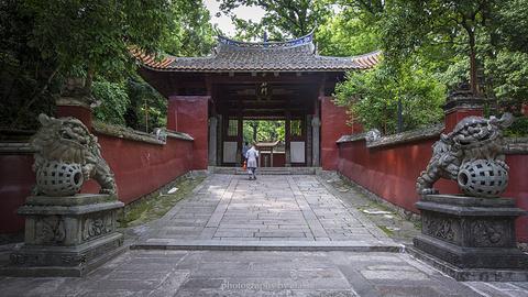 涌泉寺旅游景点攻略图