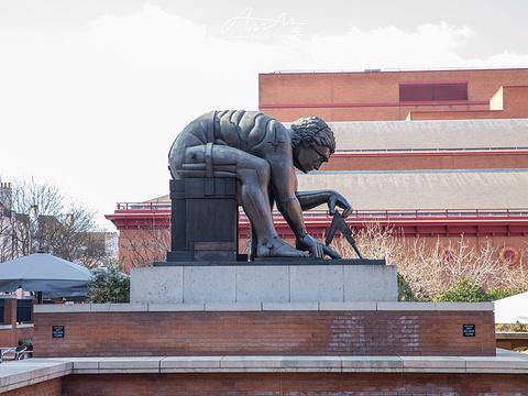 大英图书馆旅游景点图片