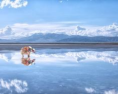 #消夏计划#梵天一场梦-青海茶卡盐湖