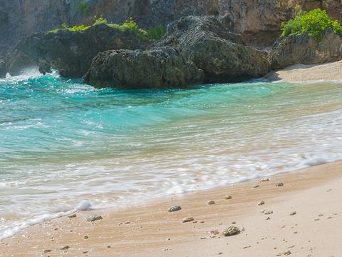 拉德海滩(跑男海滩)旅游景点图片
