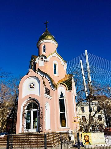 """""""紧靠凯旋门的东正教堂。永不熄灭的长明火..._东正教堂""""的评论图片"""