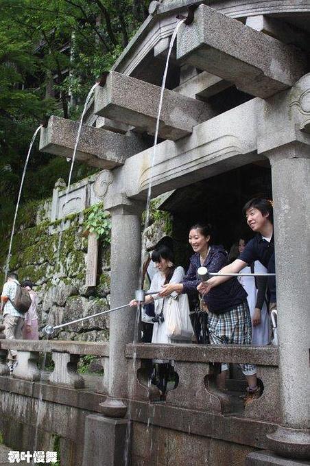 清水寺的清水图片