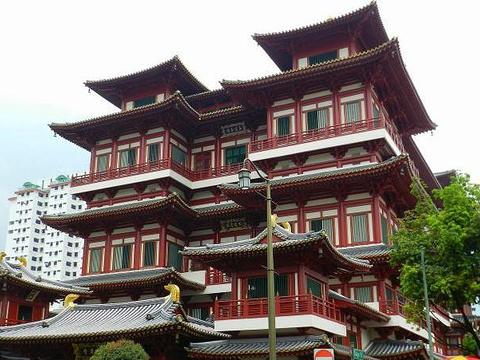 新加坡佛牙寺龙华院旅游景点图片
