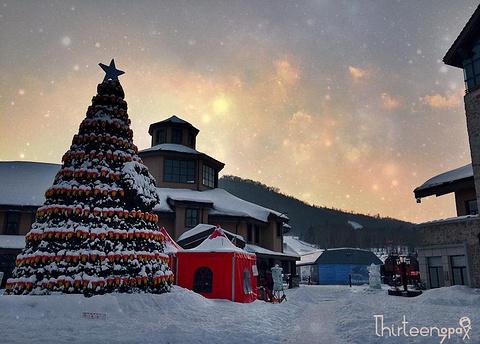 万达长白山国际度假区滑雪场