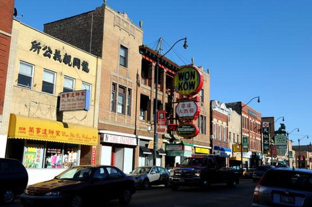 美洲 美国 伊利诺伊州 芝加哥市 - 西部落叶 - 西部落叶
