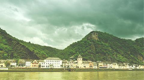 莱茵河滨江大道旅游景点攻略图