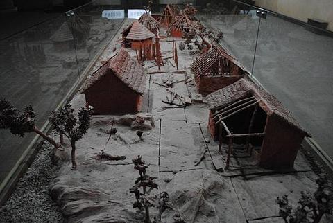 西安半坡博物馆旅游景点攻略图