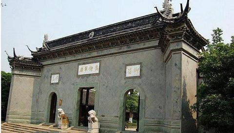 乌将军庙的图片